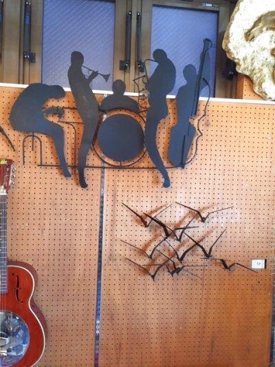 """画像3: """"Curtis Jere"""" Brass Wall Sculpture"""