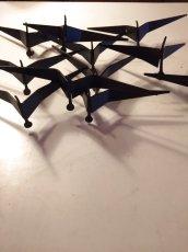 """画像3: """"Curtis Jere"""" Brass Wall Sculpture (3)"""
