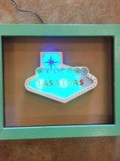 "画像2: ""LAS VEGAS""  Light Up Sign (2)"