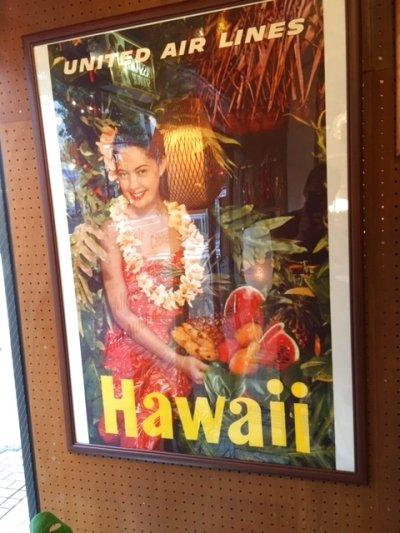 """画像1: """"UNITED """" Hawaii poster"""