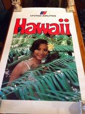 """画像1: """"UNITED """" Hawaii poster (1)"""