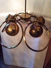 """画像2: """"UFO"""" Gold Pendant Light  (2)"""