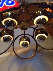 """画像3: """"UFO"""" Gold Pendant Light  (3)"""