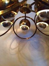 """画像7: """"UFO"""" Gold Pendant Light  (7)"""