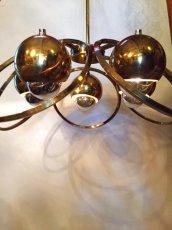 """画像1: """"UFO"""" Gold Pendant Light  (1)"""
