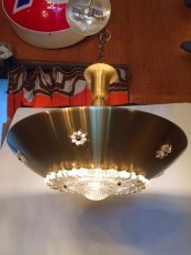 画像2: Gold Pendant Light (2)
