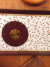 "画像1:  ""Tile"" Wall Clock (1)"