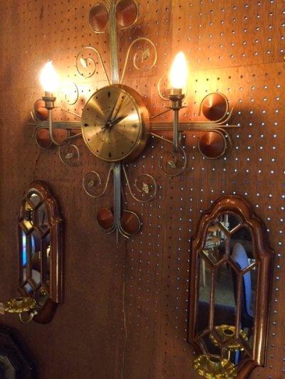 画像2: Lighting Wall Clock