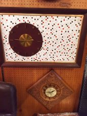 "画像4:  ""Tile"" Wall Clock (4)"