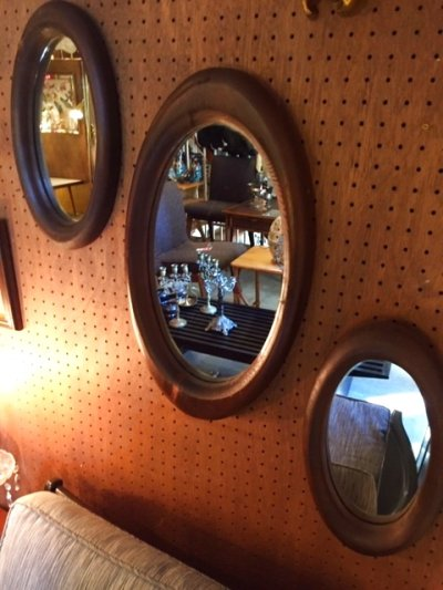 画像1: 3set Wall Mirror