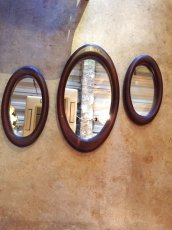 画像1: 3set Wall Mirror (1)