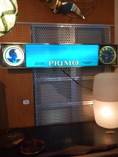 """画像1: """"PRIMO""""  Light Up Sign"""