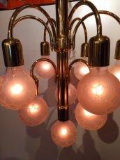 画像2: Modern Gold Pendant Light (2)