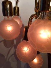 画像4: Modern Gold Pendant Light (4)