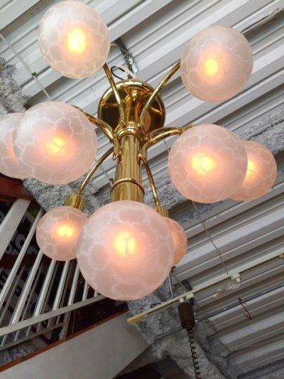 画像2: Modern Gold Pendant Light