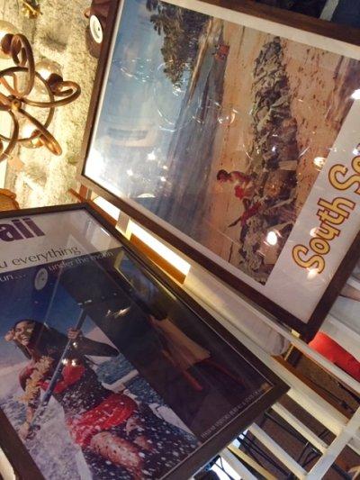 """画像3: """"VINTAGE """" South Seas poster"""