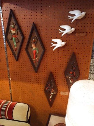 画像3: Harlequin Dancer Wall Hang