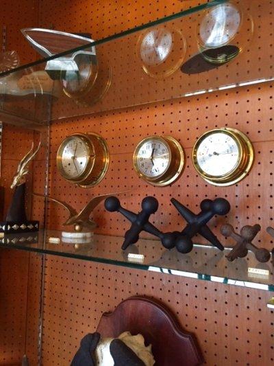"""画像1: """"HAWARD MILLER"""" Marine Clock"""