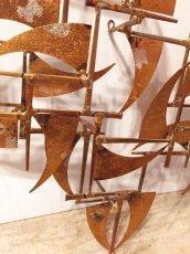 "画像6: ""William Bowie""Brass Wall Sculpture (6)"