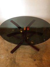 """画像2: """"WESTNOFA"""" Glass  Table (2)"""