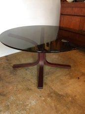 """画像1: """"WESTNOFA"""" Glass  Table (1)"""
