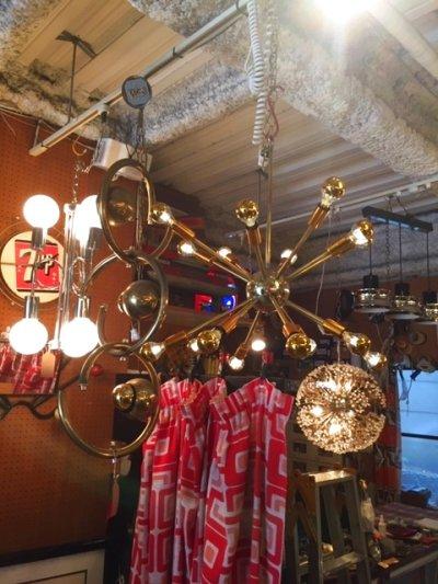 """画像1:  """" Sputnik""""16灯 Pendant Light"""