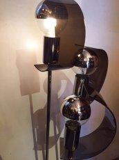 画像2: Modern Chrome Lamp (2)