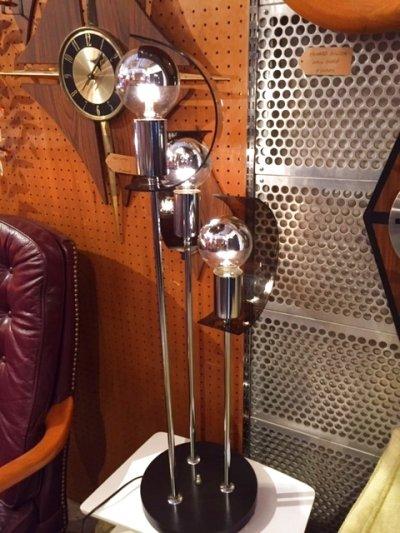 画像1: Modern Chrome Lamp