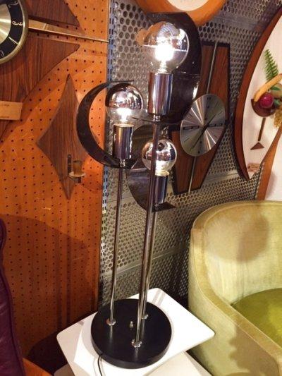 画像2: Modern Chrome Lamp