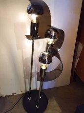 画像1: Modern Chrome Lamp (1)