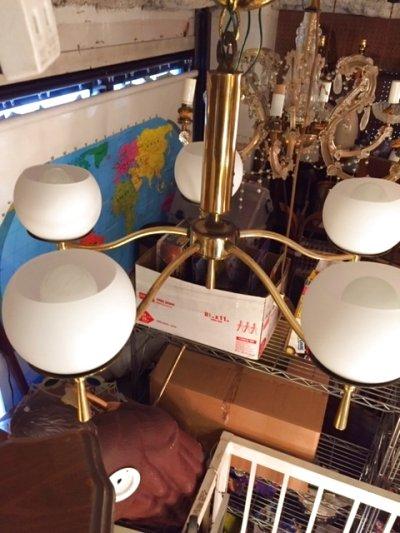 画像1: Modern 5灯 Pendant Light