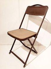 画像1: Vintage Industrial Folding Chair (1)
