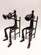 画像1: Vintage Human&Trumpet Obje (1)