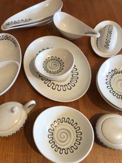 """画像1: """"Metlox Poppytrail"""" Lunch Plate"""