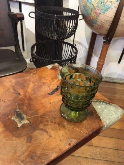 画像2: Vintage Green Stained Glass