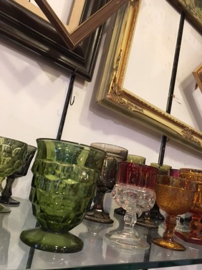 画像3: Vintage Green Stained Glass
