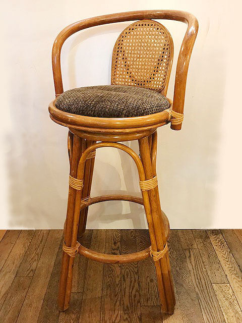 "【""Bamboo"" Counter Chair】"