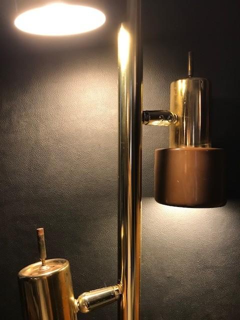 【Vintage 3灯 Pole Lamp】