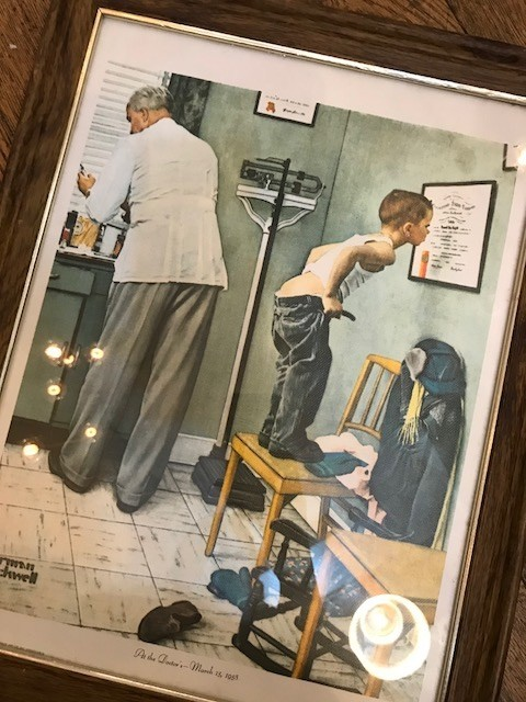 "【""Norman Rockwell"" At The Doctor's】"