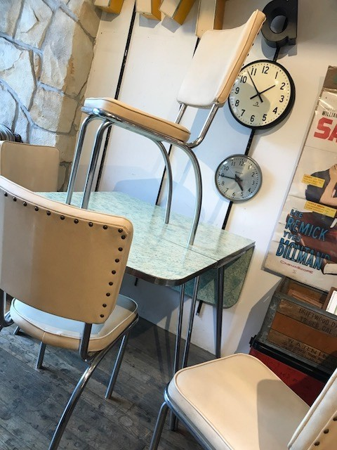 【50's Dining Table Set】