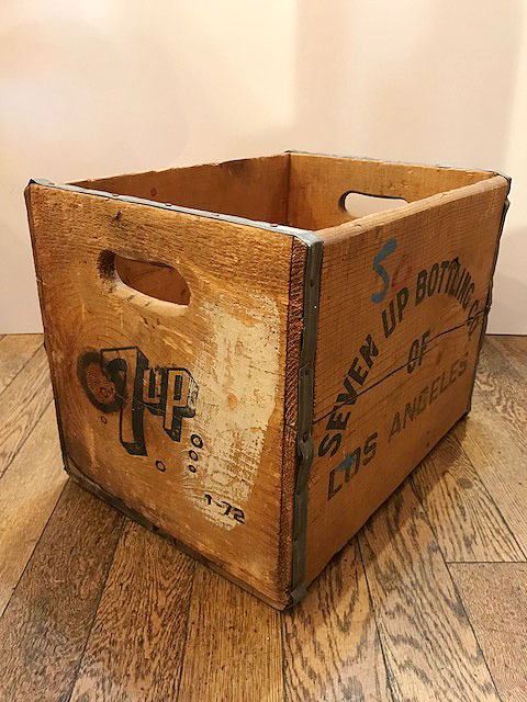 画像1: VINTAGE 7UP Bottle Box (1)