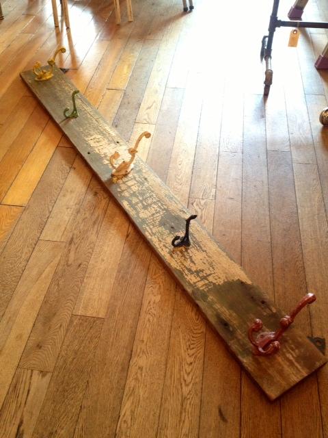 画像1: Wood Wall Hang (1)