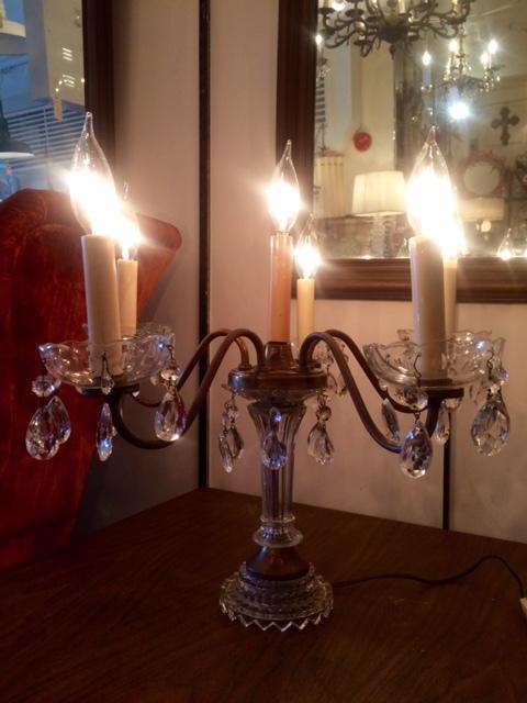 画像1: Chandelier Desk Lamp  (1)
