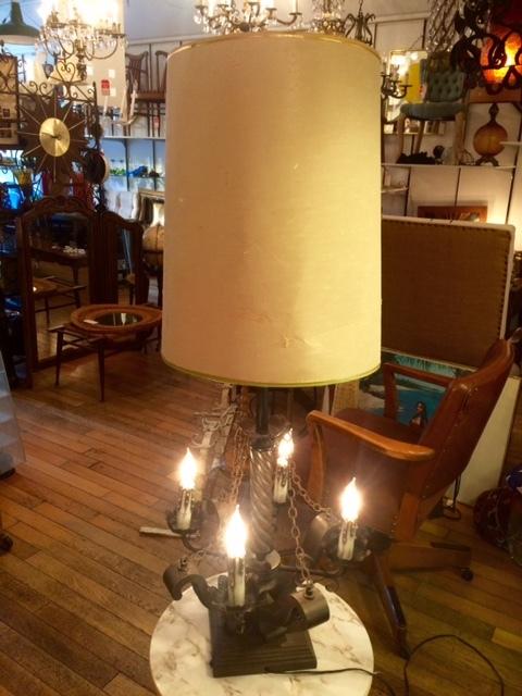 画像1: Antique Desk Lamp (1)