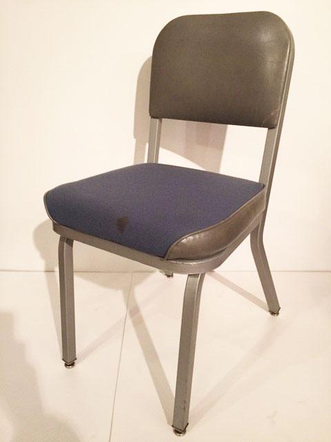 """画像1: """"United Chair"""" Metal Chair (1)"""