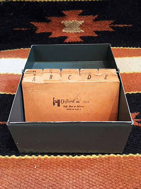 画像1: Vintage File Box (1)