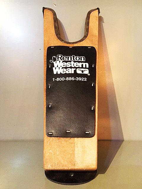 """画像1: """"Renton Western Wear"""" Boot Jack (1)"""