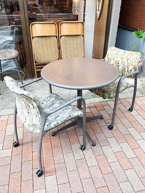 """画像1: """"Herman Miller"""" Table&Chair Set (1)"""