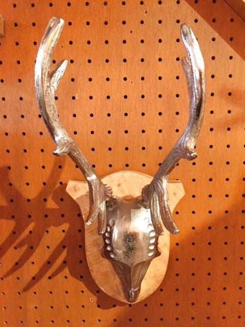 画像1: Skull Wall Hang (1)