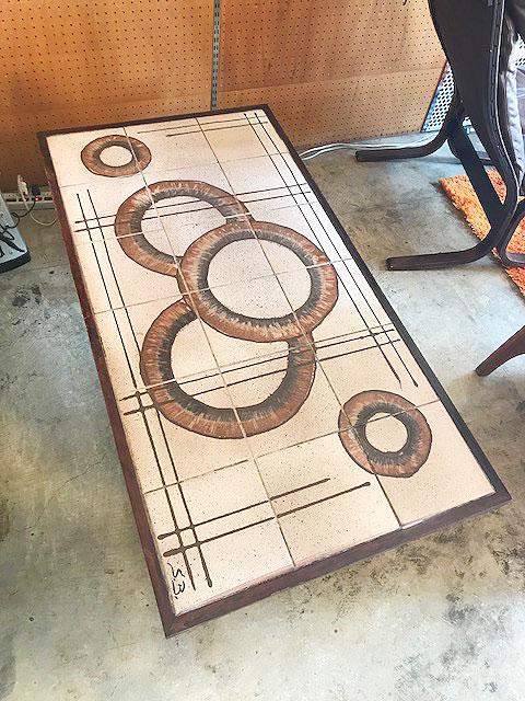 画像1: Vintage Tile Table (1)
